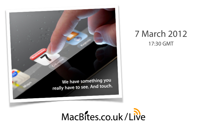 Apple's Invitation to See and Touch!